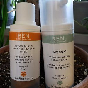 REN Lactic Radiance + Ultra Comforting Mask BUNDLE